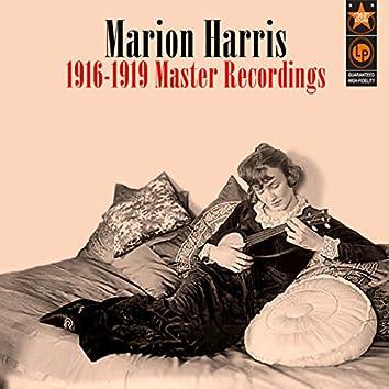 1916-1919 Master Recordings