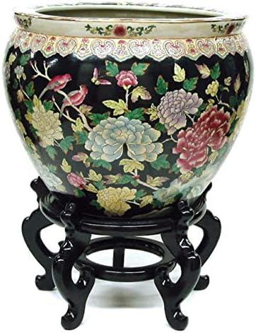 14 2021 new Inch Shanton Black Pot Max 44% OFF Porcelain