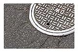 LESGAULEST Doormat Floor Rug/Mat (23.6 x 15.7 inch) - Manhole City Street Sewer Sewage Infrastructure