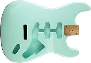 Fender Strat Body, Tremolo Routing - SURF GREEN