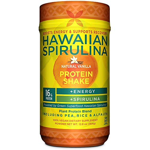 Hawaiian Spirulina Plant Protein Shake by Nutrex Hawaii review