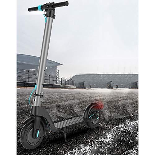 Elektrische fiets E-scooter voor volwassenen, opvouwbaar, 350 W, max. Snelheid, 25 km/h, elektrische step met 8,5 inch (8,5 cm), met led-display, E-scooter