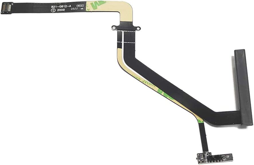 ICTION Replacement HDD Hard Drive Flex Cable 821-0812-A Compatible for MacBook Pro A1286 15'' 2009 2010 2011
