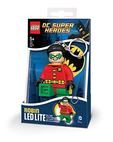 LEGO- DC Super Heroes Robin Portachiavi LED, IQLGLKE, Multicolore, Taglia Unica, IQLGL-KE61
