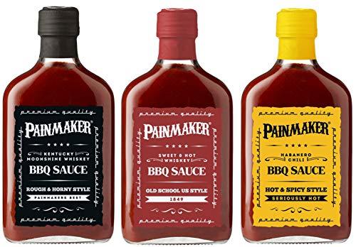 Painmaker dreierlei Saucen Set (3x195ml)