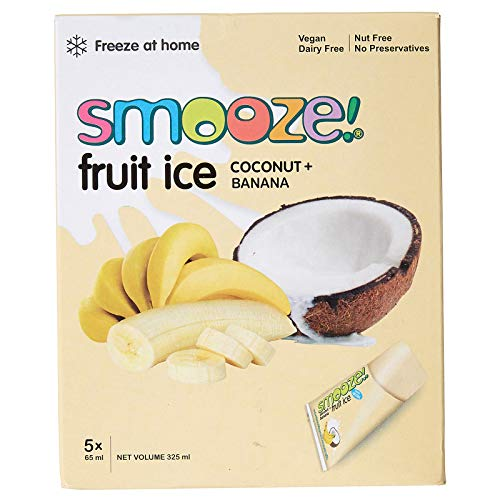 Smooze! Fruchteis Kokosnuss Banane - 325ml (5x65ml)