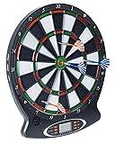 L.A. Sports Elektronische Dartscheibe 1-8 Spieler 6 Softdarts Pfeile Dart-Board