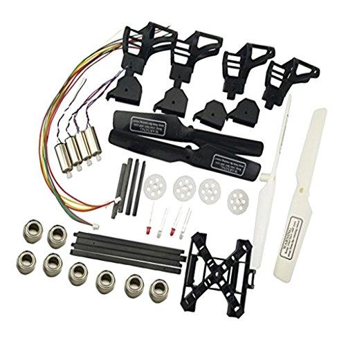 Sharplace Piezas de Repuesto de Actualización para UDI U817 U817A U818A RC Drone Quadcopter Kit