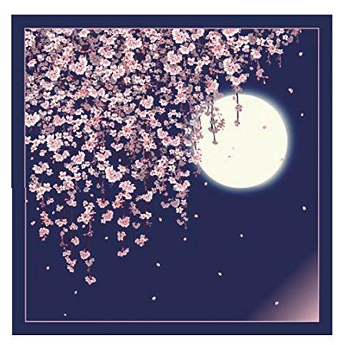 風呂敷 自遊布 綿100% 綿大ふろしき 風呂敷 約118cm ふろしき 有職 大判風呂敷 (日本の春・CL-3)