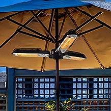 LIRUI Umbrella heaters Electric,Electric Parasol Umbrella Patio Heater IP Certified Water Proof Variable Heat Output,Ceiling Models