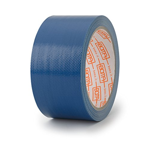 Boma B47008500013 Nastro Telato per Riparazioni, Blu, 50mm x 10mt