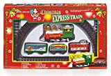 Battery Operated Children's Christmas Express Train Set by Christmas Decorations