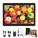 Tablet de 10 pulgadas, Android 10, Tablet PC con CPU de cuatro núcleos, 4 GB de RAM, 64 GB de ROM, IPS HD pantalla (1280 x 800), tipo C, Wi-Fi/GPS/Bluetooth 4.0 (negro)