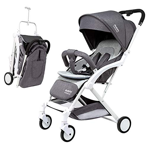 For Sale! AMENZ Stroller Seat Advanced Stroller Twin prams Two Way 4 Wheels Easy to Push Buggy Plume...