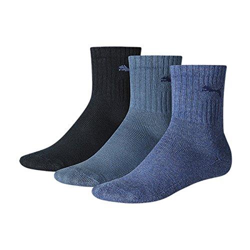 PUMA Kinder Sportsocken 9er Pack, Größe:31-34;Farbe:denim blue (460)