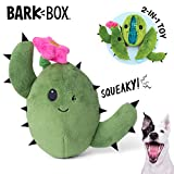 Barkbox Interactive 2-in-1 Stuffed Plush Squeaky Dog Toy for Small/Medium/Large Dogs (Consuela The Cactus, Medium/Large Dog)