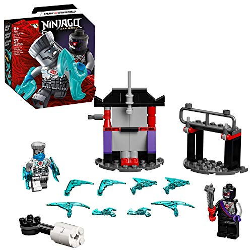 LEGO NINJAGO Epic Battle Set – Zane vs. Nindroid 71731 Building Kit; Ninja Toy Playset Featuring a Spinning Battle Toy, New 2021 (56 Pieces)