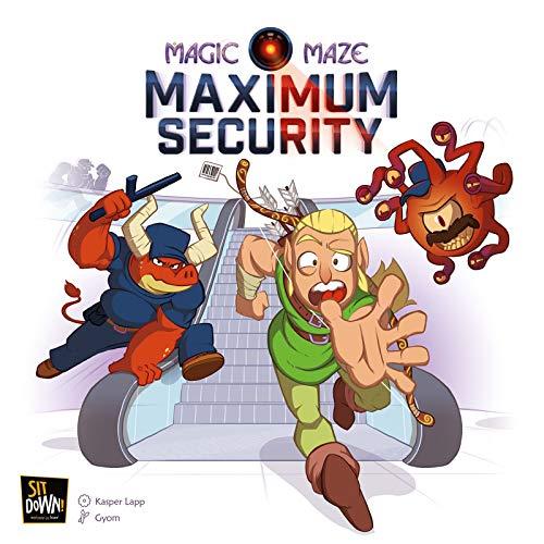 Sit Down SITMS17G Magic Maze: Maximum Security Expansion (multilingual)