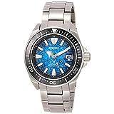 [セイコーウォッチ] 腕時計 プロスペックス PROSPEX(プロスペックス) 200m空気潜水用防水 メカニカル ダイバーズウオッチ 自動巻(手巻つき)Save The Ocean マンタモチーフ SBDY065 メンズ シルバー