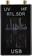 Jadpes Receptor Hf Tuner Receptor, Banda Completa U/V HF RTL-SDR USB Tuner Receiver/R820T + 8232 Radio US Ultra HD AV Receiver