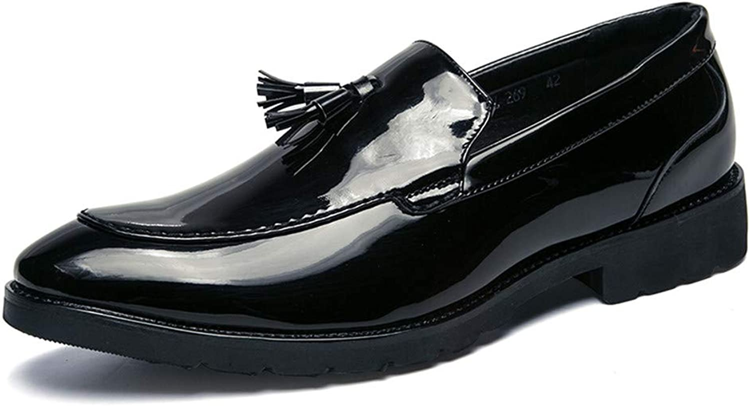 For 2018's, Men's Tassel Oxford shoes Moccasins Slip-On Classic Penny Loafer shoes