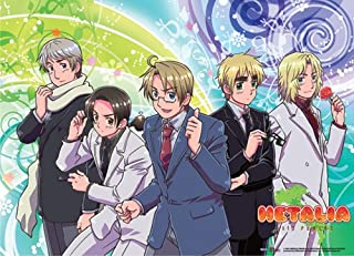 Great Eastern Hetalia Allied Forces Fabric Poster