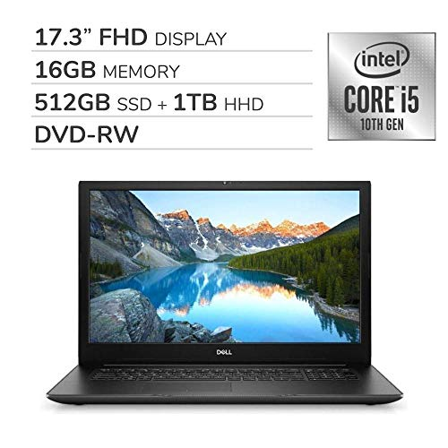 Compare Dell Inspiron 17 3793 (10-DELL-5562) vs other laptops