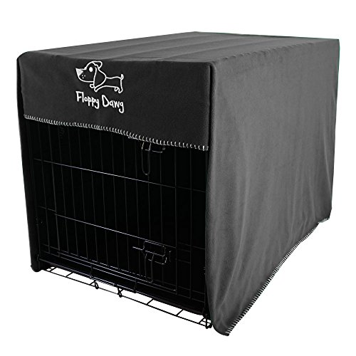 Floppy Dawg Crate Cover. Fits 42 Inch Dog Crates or Smaller. Easy to...