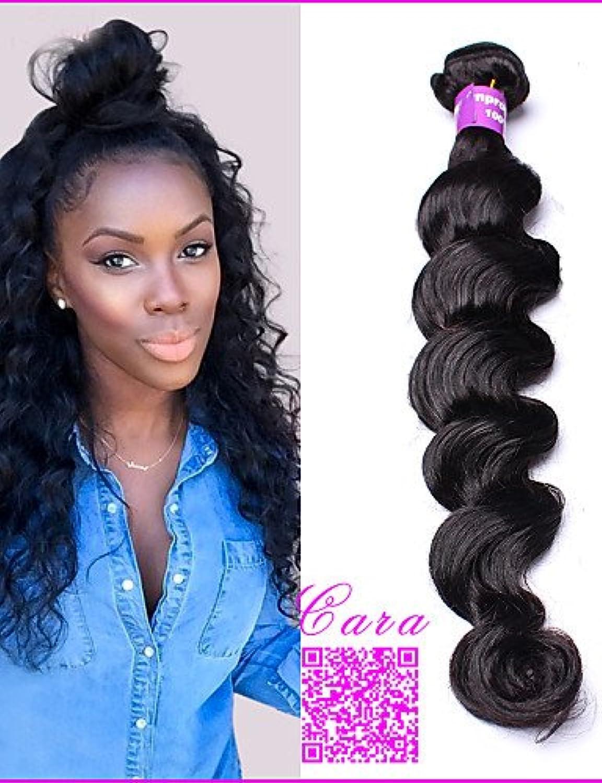 JFF  10  -30  peruanisches reines Haar 1 Stück peruanische lose Welle Haarwebart Bündel menschliche Haarwebart peruanische lose lockige Welle