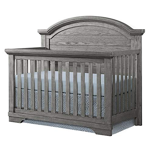 Best Prices! Westwood Design Olivia Arch Paneled 4 in 1 Convertible Crib, Brushed Rosewood