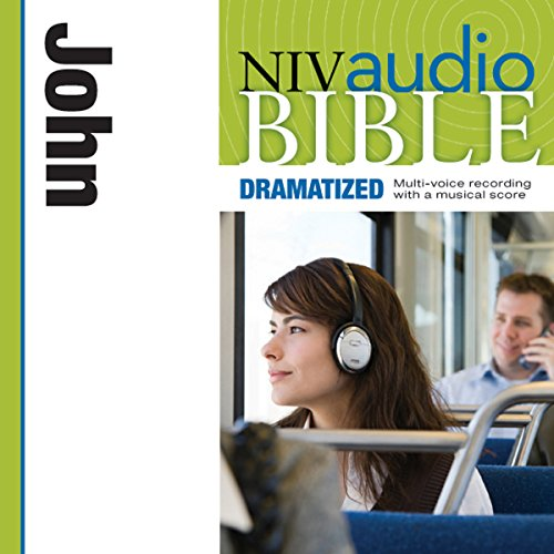 Dramatized Audio Bible - New International Version, NIV: (32) John audiobook cover art