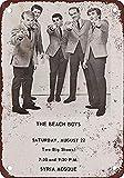 CDecor Beach Boys in Pittsburgh Blechschilder, Metall