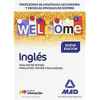 Profesores de Enseñanza Secundaria y Escuelas Oficiales de Idiomas Inglés Análisis de textos: preguntas, textos y soluciones