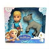 Figura Toy Frozen Hans Dolls Juguetes para niños Regalo 15Cm Pequeñas muñecas de plástico para bebés Regalo Niña (2Pcs / 1Set)
