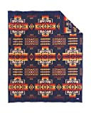 Pendleton Chief Joseph Wool Blanket, Navy, Twin Size