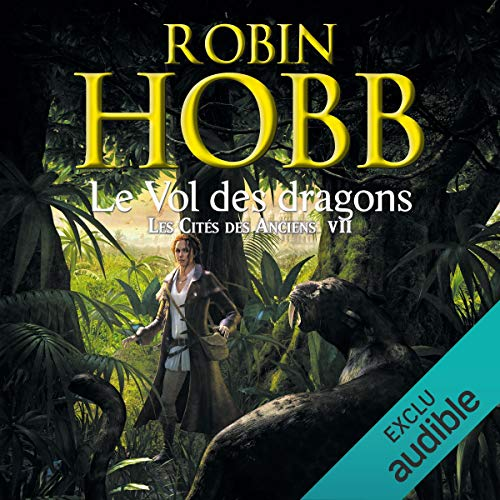 Le vol des dragons audiobook cover art