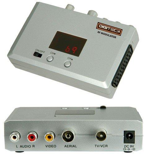 T9 modulador rf scart, componente rca scart a rf tv.: Amazon.es: Bricolaje y herramientas