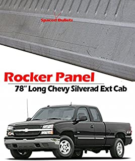 1999-2007 Chevy Silverado and GMC Sierra Universal Fit 4 Door Extended Cab Outer Rocker Panels (2 Pcs)