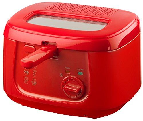 Bestron ADF4000HR Friggitrice, 1800 W, Rosso