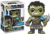 Funko Pop! Marvel: Thor Ragnarok - Hulk Gladiator Suit No Helmet (Includes Compatible Pop Box Protector Case)
