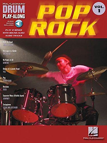 Drum Play-Along Volume 1: Pop Rock Drums Book / Cd: Play-Along, CD für Schlagzeug (Hal Leonard Drum Play-Along, Band 1)