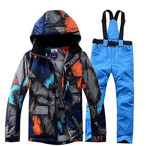 XFCMCP Ski Suit Mannen Winter Thermische Waterdichte Winddichte Kleding Sneeuwbroek Ski Jas Mannen Set Skiën En Snowboarden Suits