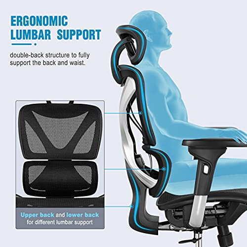 Gabrylly Ergonomic Office Chair with Lumbar Support
