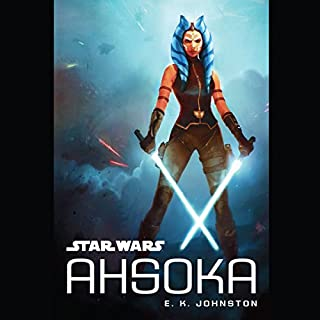 Star Wars: Ahsoka audiobook cover art