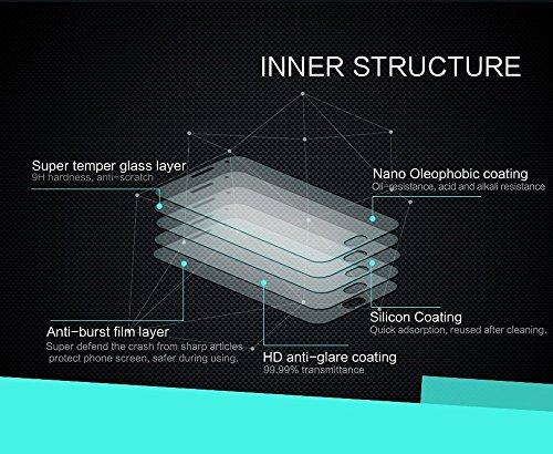 Kepuch Huawei Nova 2S Schutzfolie Displayschutzfolie - 2 Stück 9H Panzerglas Folie Screen Protector Retail-Verpackung für Huawei Nova 2S - 5