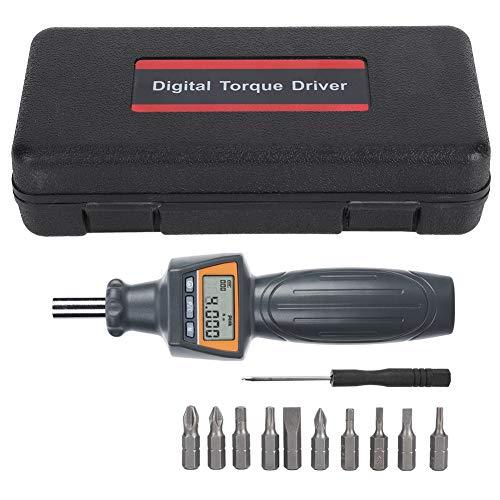 Weikeya Destornillador de Torque Digital, Hecho de plástico Digital Torsion Driver ZNS-4 Llave Medida Tester