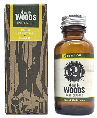 "Mens Natural Beard Oil: The 2 Bits Man ""The Woods"