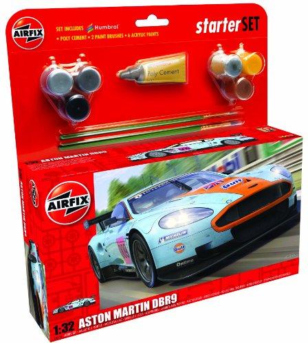 Airfix - Kit Grande con Pinturas, Coche Aston Martin DBR9 (Hornby A50110)