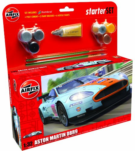 Airfix - A50110 - Maquette - Aston Martin DBR9 Gulf - Large Starter Set