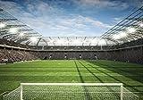 FORWALL Fototapete Vlies - Tapete Moderne Wanddeko Stadion VEXXXL (416cm. x 254cm.) AMF11798VEXXXL Wandtapete Design Tapete Wohnzimmer Schlafzimmer